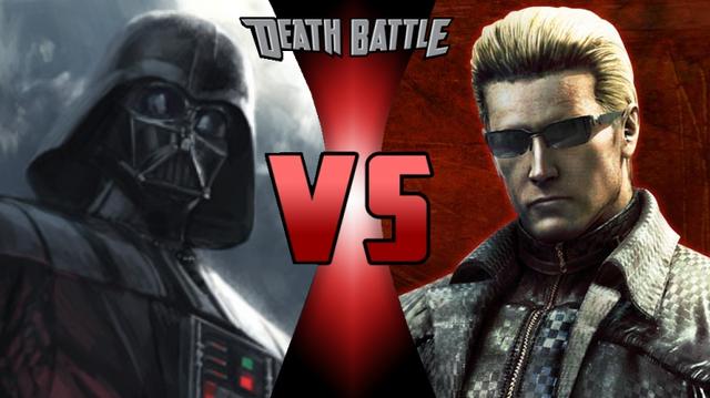 File:Darth Vader VS Albert Wesker.png