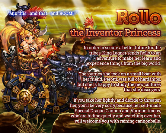 Rollo the Inventor Princess release poster