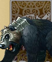 Ferocious Wild Bear