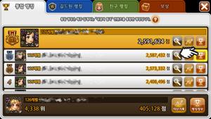 Kr patch score comparison