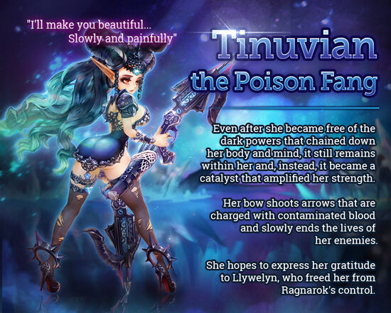 Tinuvian the Poison Fang release poster