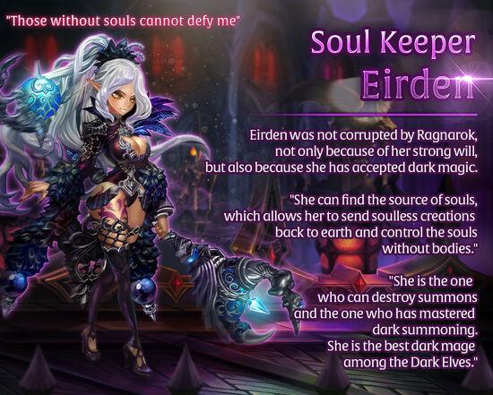 Soul Keeper Eirden release poster