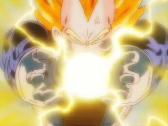 Vegeta Final Flash by TurnOnToLove