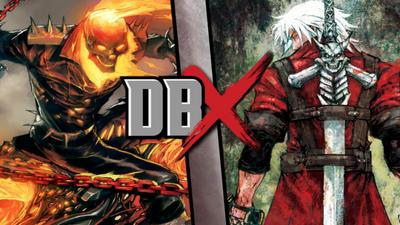 Ghost Rider vs Dante