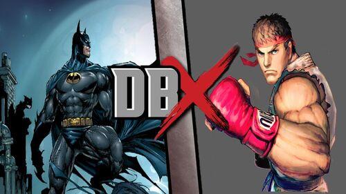 Batman vs Ryu