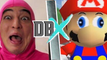 Pink Guy vs Mario