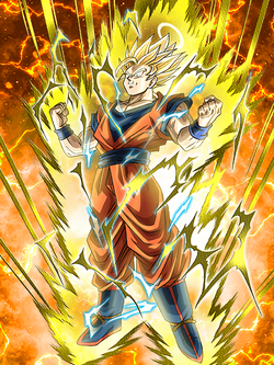 24 Hours Resurrection Super Saiyan 2 Goku (Angel)