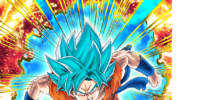 Unstoppable Ascension Super Saiyan God SS Goku