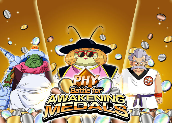 Event PHY awakening medals