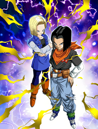 Unleashed Terror Android 17 & 18
