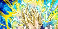 Stunning Power Super Saiyan 2 Vegeta