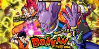 Rare Summon: Beerus Dokkan Festival