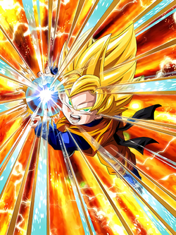 Flowering Super Power Super Saiyan Goten (Kid