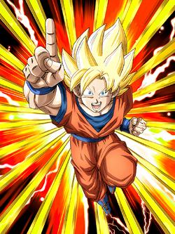 Limitless Strength Super Saiyan Goku