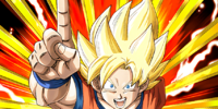 Limitless Strength Super Saiyan Goku