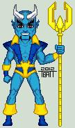 Micro blue devil by everydaybattman-d4x46mv