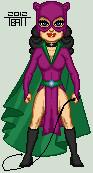 Micro classic catwoman by everydaybattman-d4vmth4
