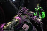 Herald Smashes Lex Luthor
