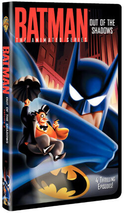 Batman Out of the Shadows VHS