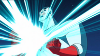 Captain Atom breaches