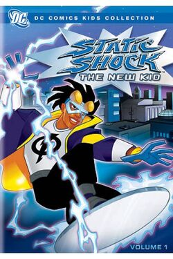 Static Shock - The New Kid (DVD)