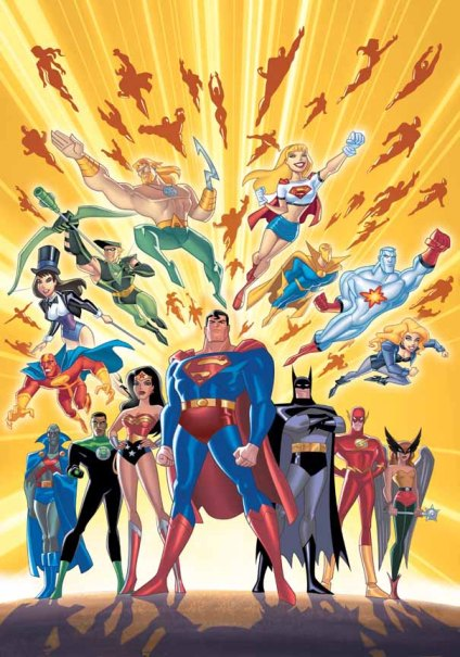 Cartoon Characters Justice League : Justice league unlimited dc animated universe fandom