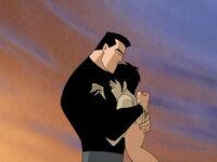 Bruce comforts Kathy