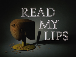 Read My Lips-Title Card