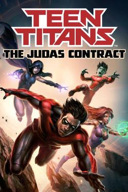 Teen Titans The Judas Contract cover