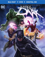 Justice League Dark Blu-ray cover