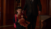 Four-year-old Lena is welcomed to the Luthor family.
