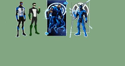The Blue Lantern Corps