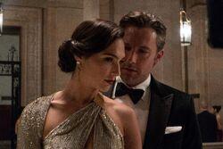 Diana Prince and Bruce Wayne