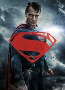 Batman v Superman Dawn of Justice - Superman character poster textless