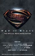 Man of Steel The Official Movie Novelization alternate cover