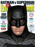 Entertainment Weekly - Batman v Superman Dawn of Justice March 2016 variant cover - Batman