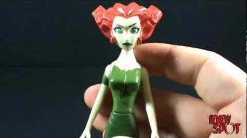 Toy Spot - The Batman Arkham Asylum set Poison Ivy figure