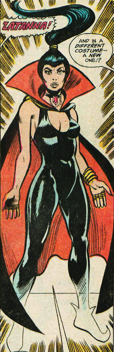 Zatanna alternate costume