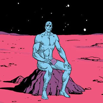 Dr-manhattan in moon