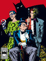 Batvillains riddler penguin two-face