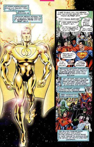 1the gold superman prime returns super