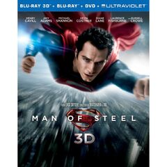 Man of Steel Blu-Ray 3D combo pack