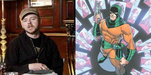 Simon Pegg as Mirror Master