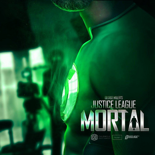 Green Lantern teaser poster by BossLogic Inc that was showed at ComiCon