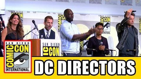 DC UNIVERSE DIRECTORS Surprise Comic Con 2016 Appearance - Ben Affleck, Patty Jenkins, Zack Snyder
