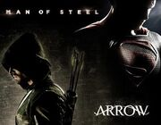 Arrow and Man of Steel