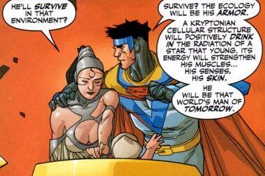 Jor-El and Lara