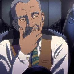 Lucius Fox as he appears in <i>Batman: Gotham Knight</i>.