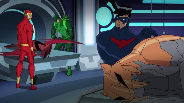 File:Green Arrow Flash Nightwing BMUAI.png