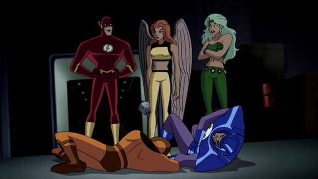 File:Fire Flash Hawkgirl JLU 1.png